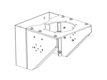 Wall bracket for MX35/60 and MX30/70