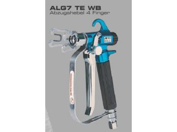 ALG7 TE WB, trigger lever 4 fingers, AIRLESS GUN