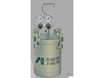 PET-10 (max.4.0 bar), material pressure vessel