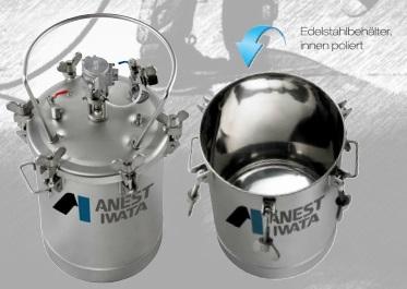 PET-N Serie (max. 7.0 bar), Materialdruckbehälter