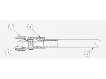 Materialschlauch 1/4 pro Meter für Vector R90