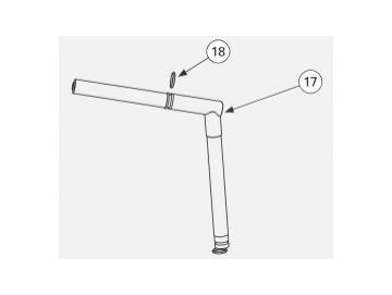O-RING,KALREZ (2 Stück) für Vector R90/R70