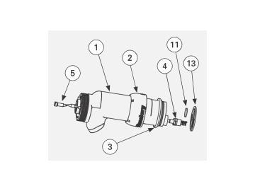 Locking nut for Vector R90 / R70