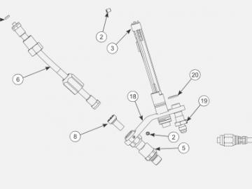 Baugruppe Stecker Niederspannung für AA90 Cascade
