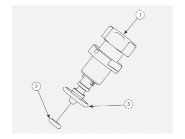 Spritzstrahl Reguliereinheit für AA90
