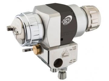 Devilbiss AG-362U recirculation automatic gun with screw manifold - no recirculation