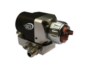 Binks AG-363 automatic spray gun with AA10 HVLP air cap