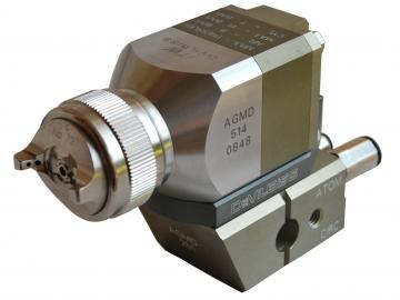 Devilbiss AGMD-515 automatic gun for Trans-Tech or HVLP atomization, with air cap indexing, without recirculation