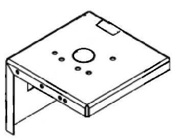 DX200 3:1 WALL BRACKET