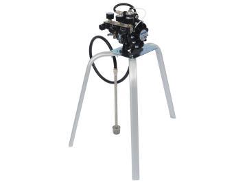 DX70 Diaphragm Pump without material regulator, with 2 air regulators