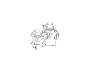 Air regulator for DX200