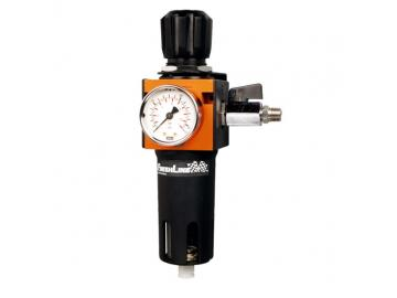 Filter regulator with one outlet