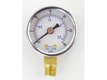 Luftdruckmanometer für KBII - 0-2 bar