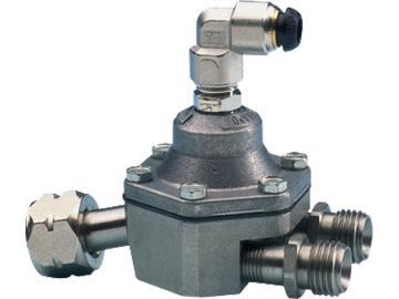 Pistolenmontierter Materialregler - Automatisch pneumatische Einstellung