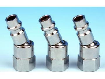 Rotatable plug nipple 1/4 IG (3 pieces)