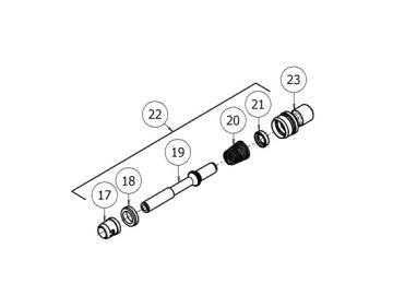 Air valve KIT for GTI Pro Lite, Pri Pro Lite - Gravity gun