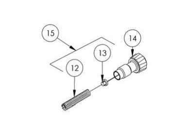 Nadel Einstellknopf für SRI Pro Lite