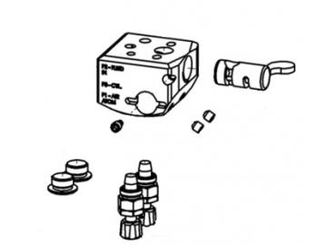 Hebelverteiler für AG362/AG362P