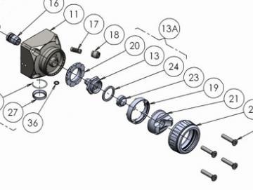 O-Ring Viton extrem (4 Stück) für AA4400A