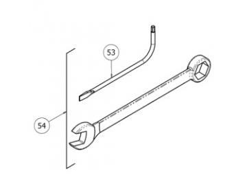 TORX Schlüssel T20 (2 Stück)