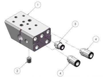 FESTSTELLSCHRAUBE (5 STÜCK) für AGMDPRO-403-K MASCHINENADAPTER