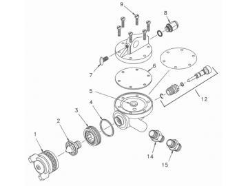O-Ring (5 Stück) für AGN-502