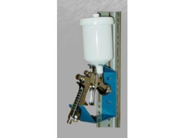 Spray gun holder for 1 gun (also for wall mounting)