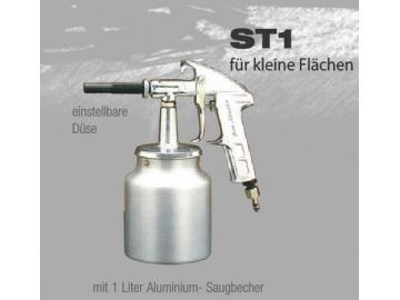 ST1 SANDSTRAHLPISTOLE mit AG-1 Saugbecher für kleine Flächen