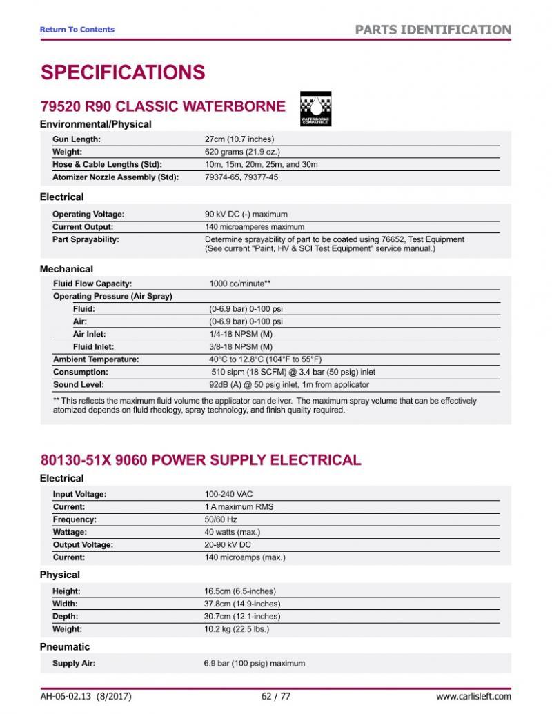 Vector R90 Classic 85kV, Wasserlack, mit Netzteil