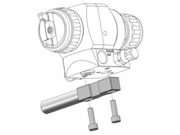 Horizontale Montageschiene mit Schrauben für AG362