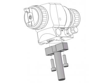 Vertikale Montageschiene mit Schrauben für AG362