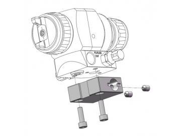 Montageblock mit Schrauben für AG362