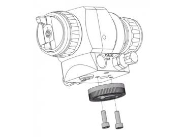 MIndex adjustment with screws for AG362/AG362P