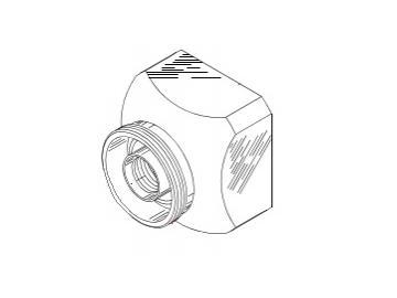 Sprühkopf mit Umlauf für AGMD-514/515
