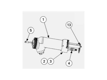 Pistolenkörper für Vector R70 Cascade