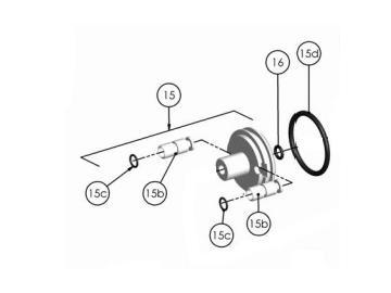 O-Ring Viton extrem (4 Stück) für Cobra 2