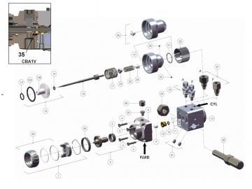 Packung und O-RING (5 Stück) für Cobra 1 - Ceramic
