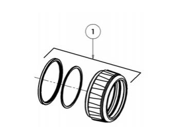 Retaining ring & seals for AG363