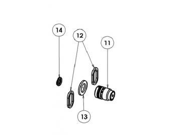 O-RING VITON EXTREME (4 Stück) für AG363/AG364