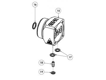 O-Ring Viton extrem (4 Stück) für AG363/AG364