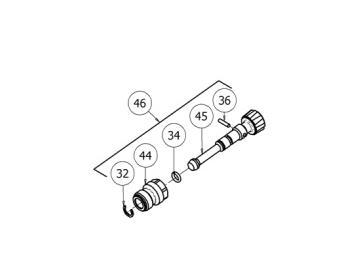 Streuventil Kit für GTI Pro Lite, GTI PRO, Pri Pro Lite, GPi - Fließbecher