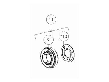 SEALING RING (2 PIECES) for Pro Light E