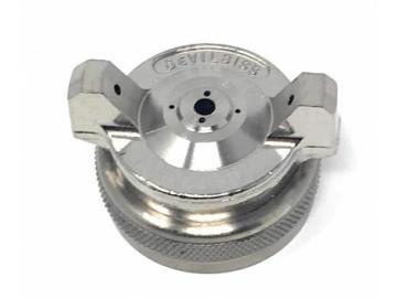 Air Cap with Retaining Ring for JGA - pressure fed spray gun