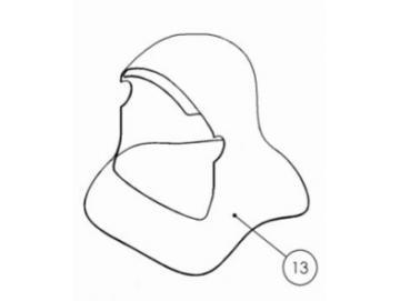HOOD for PROV-650 Mask