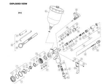 Major service kit for DV1