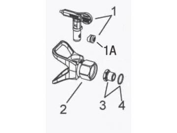Diffusormutter Kit für A75