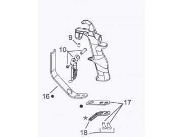 Screw Set (3 pieces) for A75