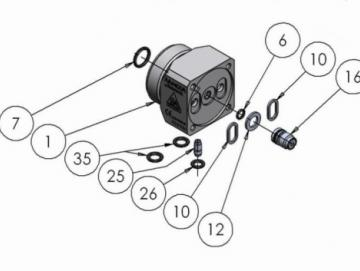 O-Ring Viton extrem (2 Stück) für AA4400A