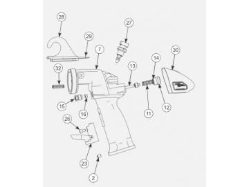 Schraube 8-32X.25 für AA90