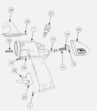 O-RING VITON EXTREME für AA90